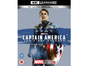 Captain America: The First Avenger (Release Date TBC) (Blu-ray 4K)