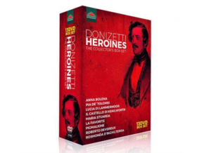 VARIOUS ARTISTS - Gaetano Donizetti: Heroines (The Collectors Box-Set) (DVD Box Set)