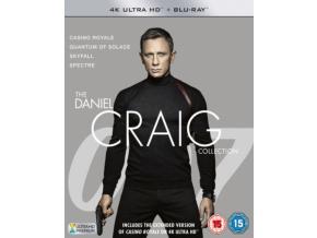 James Bond - The Daniel Craig Collection (Blu-ray 4K)
