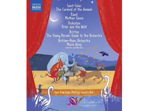 BRITTEN-PEARS ORC / ALSOP - Camille Saint-Saens: The Carnival Of The Animals / M. Ravel: Mother Goose / S. Prokofiev: Peter And The Wolf / B. Britten: The Young Persons Guide To The Orchestra (Blu-ray)