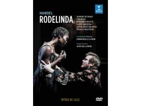 LE CONCERT DASTREE / EMANUELLE HAIM / JAKUB JOZEF ORLINSKI / JEANINE DE BIQUE / TIM MEAD / BENJAMIN HULETT / AVERY AMEREAU / ANDREA MASTRORONI - Handel: Rodelinda (Opera De Lille 2018. Stage Director: Jean Bellorini) (DVD)