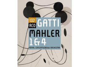 ROYAL CONCERTGEBOUW ORCHESTRA & DANIELE GATTI - Mahler: Symphonies Nos. 1 & 4 (DVD)