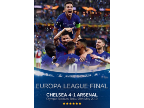 2019 Europa League Final - Chelsea 4 Arsenal 1 (DVD)
