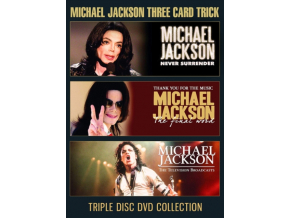 MICHAEL JACKSON - Three Card Trick (DVD)