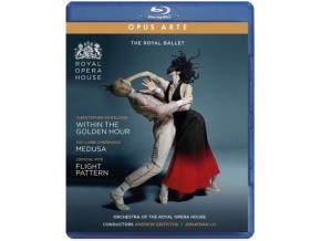ROYAL BALLET - Within The Golden Hour / Medusa / Flight Pattern (Blu-ray + DVD)