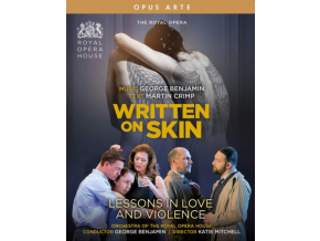 ROYAL OPERA - George Benjamin: Written On Skin / Lessons In Love And Violence (Blu-ray + DVD)
