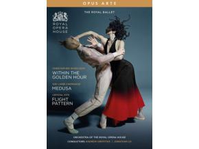ROYAL BALLET - Within The Golden Hour / Medusa / Flight Pattern (DVD)