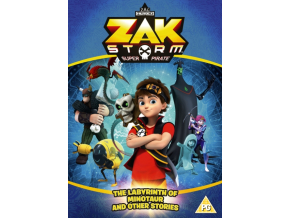 Zak Storm: The Labyrinth Of Minotaur And Other Stories (DVD)
