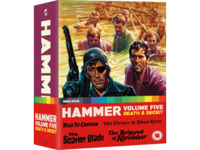 Hammer Volume Five: Death & Deceit (Limited Edition) (Blu-ray)