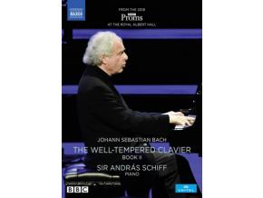 ANDRAS SCHIFF - Johann Sepbastian Bach: The Well-Tempered Clavier. Book II (DVD)