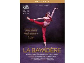 THE ROYAL BALLET - Ludwig Minkus: La Bayadere (DVD)
