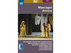 SOLOISTS / SLOVAK CC / BENZI - Mascagni / Amica (DVD)