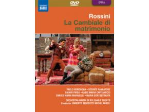 BORDOGNA / MICHELANGELI - Rossini / Cambiale Di Matrimonio (DVD)