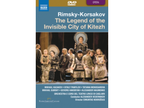 TEATRO LIRICO / KAZAKOV / PANFILOV - Korsakov / The Legend Of The Invisible (DVD)