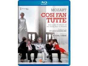 A. FRITSCH / P GARDINA - W.A. Mozart / Cosi Fan Tutte (Blu-ray)