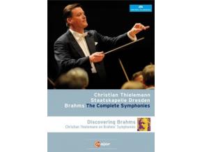 THIELEMANN / STAATSKAPELLE - Brahms: Complete Symphonies (Blu-ray)