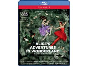 Wheeldon And Talbot - Alice's Adventures In Wonderland (Blu-Ray)