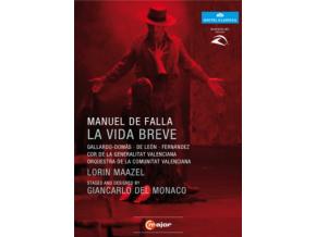 GALLARDO-DOMAS / CORBACHO - De Falla / La Vida Breve (DVD)