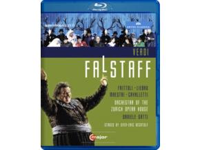 MAESTRI / FRITTOLI / CAVALLETTI - Verdi / Falstaff (Blu-ray)