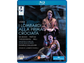 BIASIO / PERTUSI / THEODOSSIOU - Verdi / Lombardi Crociata (Blu-ray)