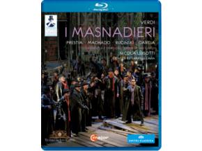 LAVIA / MACHADO / RUCINSKI - Verdi / I Masnadieri (Blu-ray)