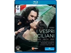ZANETTI / ORCH PARMA / NUCCI - Verdi / I Vespri Siciliani (Blu-ray)
