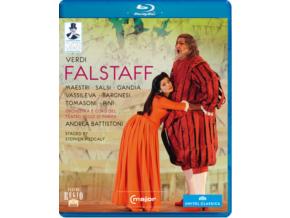 OR TEATRO DI PARMA / BATTISTONI - Verdi / Falstaff (Blu-ray)