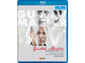 FRANKFURT RSO / JARVI - Mahler / Symphonies Nos 1 & 2 (Blu-ray)