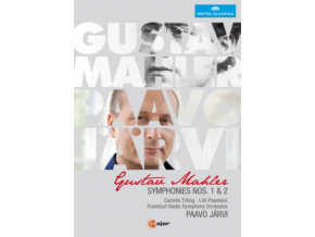 FRANKFURT RSO / JARVI - Mahler / Symphonies Nos 1 & 2 (DVD)