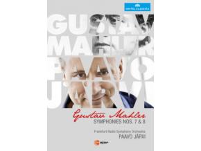 FRANKFURT RSO / JARVI - Mahler / Symphonies Nos 7 & 8 (DVD)