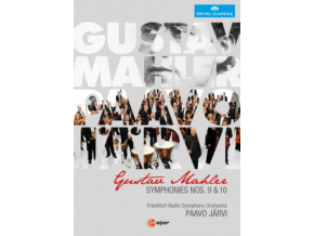 FRANKFURT RSO / JARVI - Mahler / Symphonies Nos 9 & 10 (DVD)