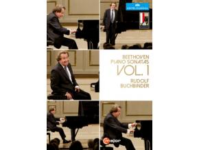 RUDOLF BUCHBINDER - Beethoven / Piano Sonatas 1 (DVD)