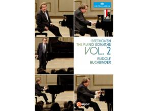 RUDOLF BUCHBINDER - Beethoven / Piano Sonatas - Vol. 2 (DVD)