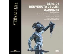 ORCHESTRE REVOLUTIONNAIRE ET ROMANTIQUE / SIR JOHN ELIOT GARDINER - Berlioz: Benvenuto Cellini (DVD)