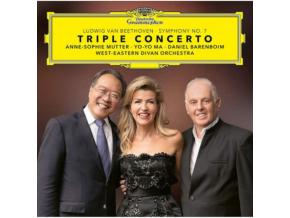 YO-YO MA / ANNE-SOPHIE MUTTER - Beethoven: Triple Concerto / Symphony No. 7 (Blu-ray)