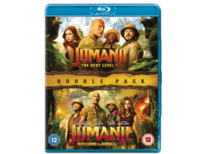Jumanji: The Next Level & Welcome To The Jungle (Blu-ray)