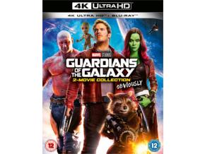 Guardians Of The Galaxy 1 & 2 (Blu-ray 4K)