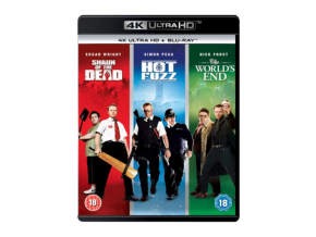 Shaun of the Dead/Hot Fuzz/The Worlds End: The 4K Collection  [2019] [Region Free] (Blu-ray 4K)
