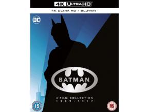 Batman 4 Film Collection (Blu-ray 4K)