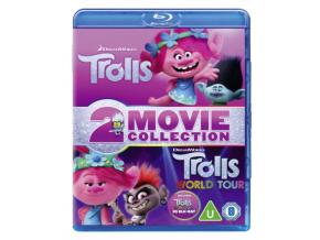 Trolls (2016) / Trolls World Tour Doublepack (2D+3D) (Blu-ray 3D)