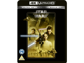 Star Wars Episode Ii: Attack Of The Clones (Blu-ray 4K)