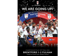 Fulham Fc - We Are Going Up! - Championship Play-Off Final 2020 (DVD)