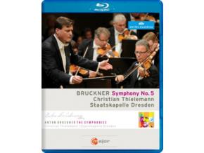 STAATS DRESDENTHIELEMANN - Brucknersym No 5 (Blu-ray)