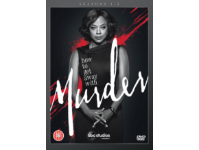 How To Get Away With Murder Seasons 12 (DVD Box Set)