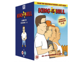 King Of The Hill Complete Seasons 15 (DVD Box Set)