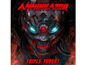 ANNIHILATOR - Triple Threat (Blu-ray + CD)