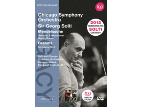 CHICAGO SO & SOLTI - Mendelssohn Brahmssolti (DVD)