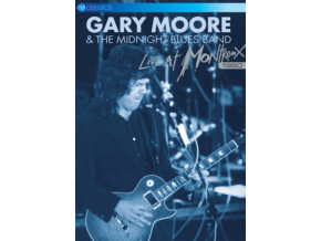 GARY MOORE THE MIDNIGHT BLUES BAND - Live At Montreux 1990 (DVD)