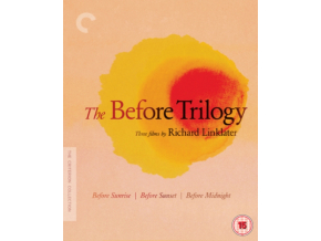 Before Trilogy. The (Before Sunrise. Sunset & Midnight) (Criterion Collection) Uk Only (Blu-ray)