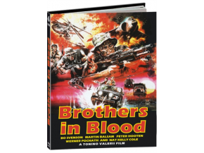 TONINO VALERII - Brothers In Blood (Limited Media Book) (Blu-ray)